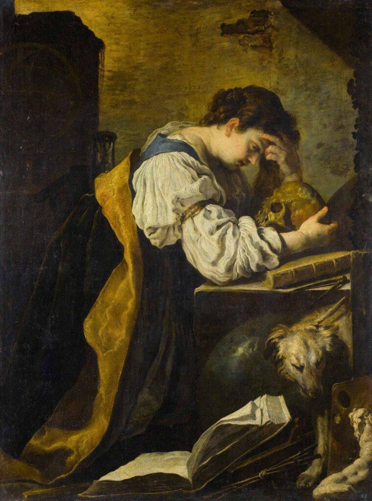 Domenico Fetti Melankoli - Melancholy