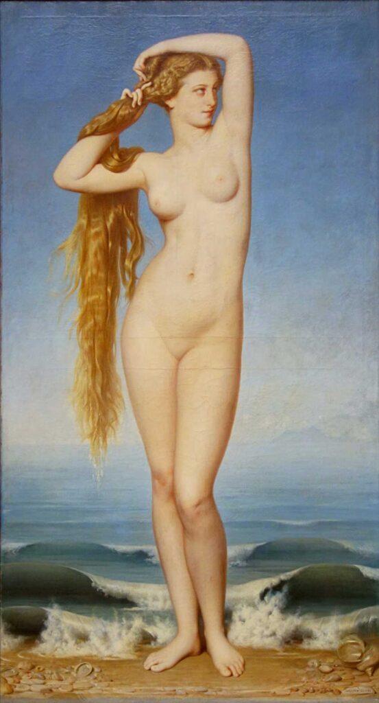 Eugene Emmanuel Amaury Duval Venüs'ün Doğuşu - The Birth of Venus