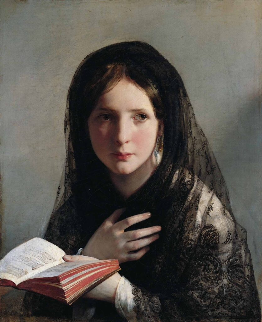 Friedrich von Amerling Hülyalara Dalmak - Lost in Dreams
