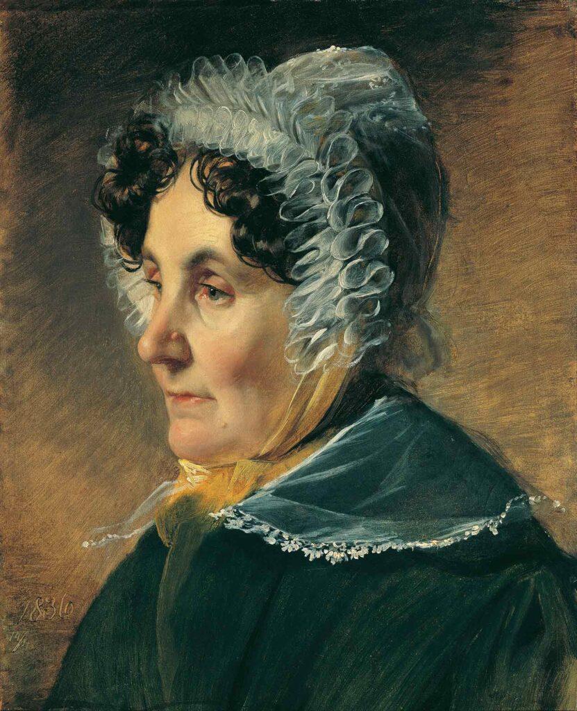 Friedrich von Amerling Ressamın Annesi - Theresia Amerling Mother of the Artist