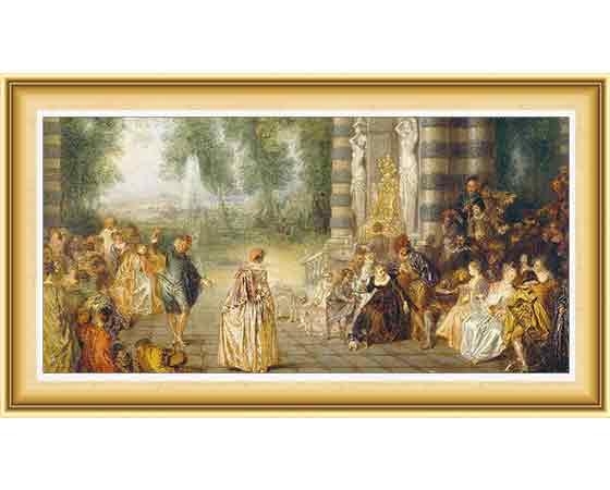 Jean Antoine Watteau Hayatı ve Eserleri