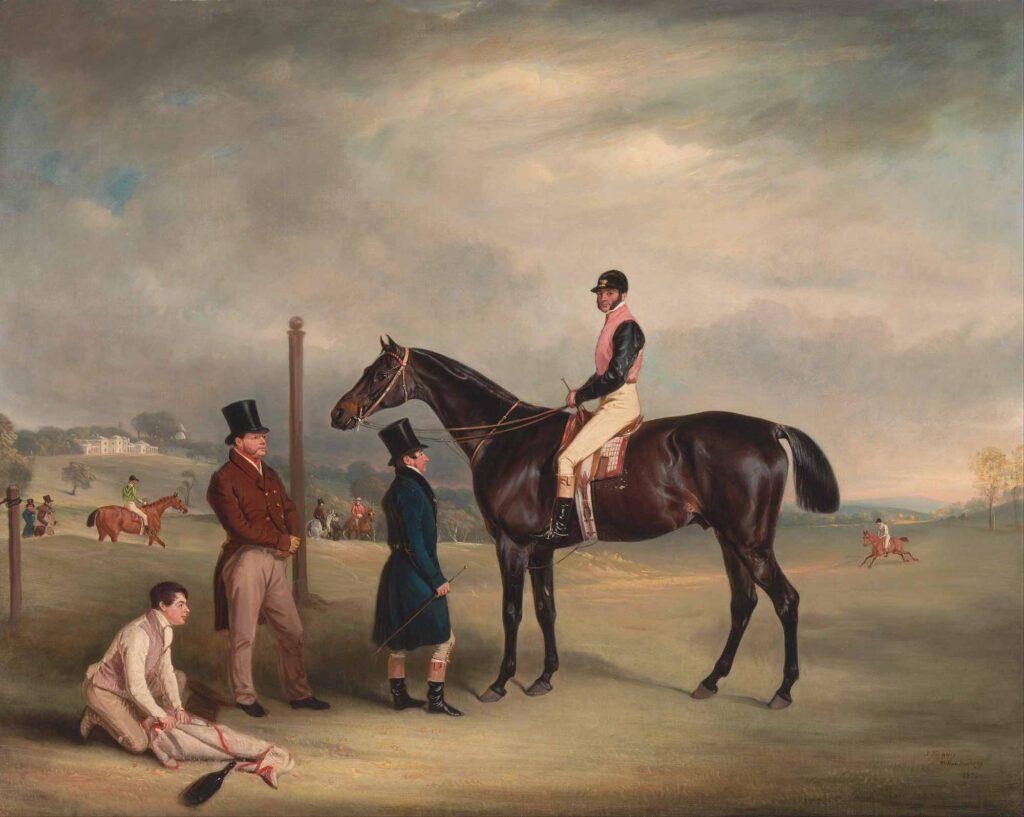 John Ferneley Euxton John White ile Heaton Parkında