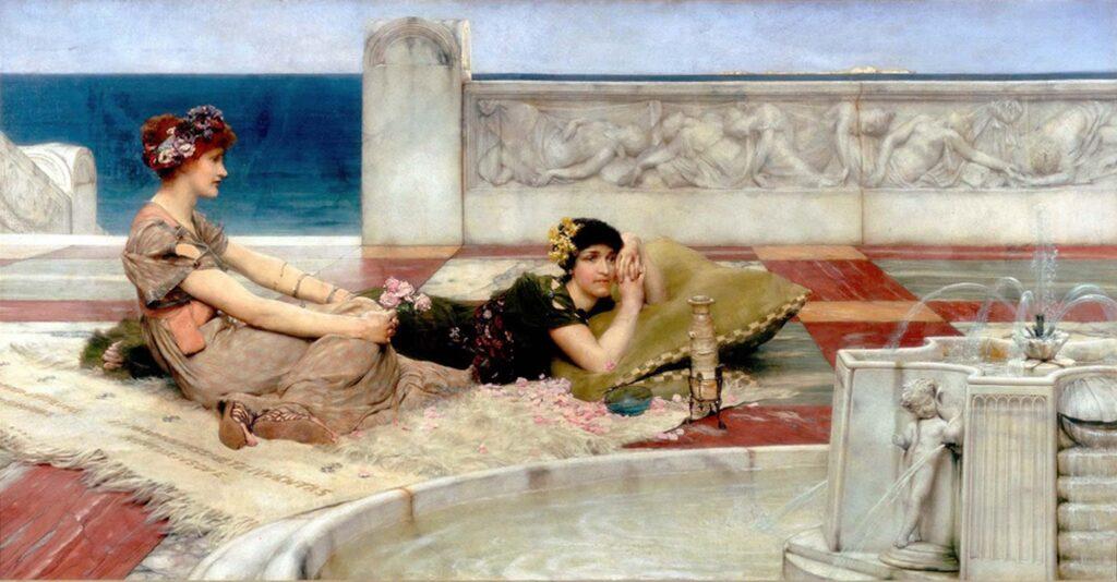 Sir Lawrence Alma Tadema Aşk Yolculukları - Love Votaries