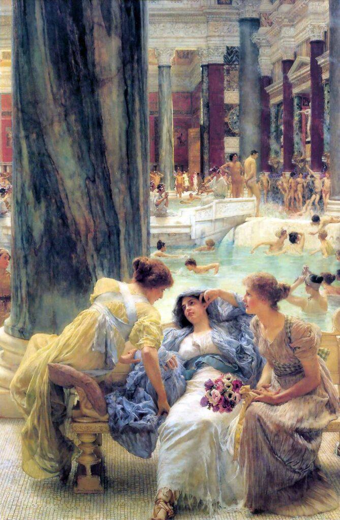 Sir Lawrence Alma Tadema Caracalla Hamamı