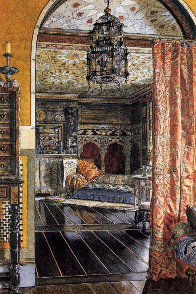 Sir Lawrence Alma Tadema Çizim Odası - The Drawing Room at Townshend House