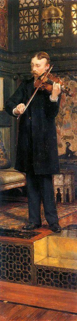 Sir Lawrence Alma Tadema Maurice Sons'un Portresi - Portrait of Maurice Sons