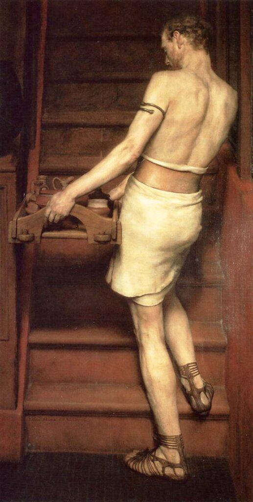 Sir Lawrence Alma Tadema Romalı Çömlekçi - Roman Potter