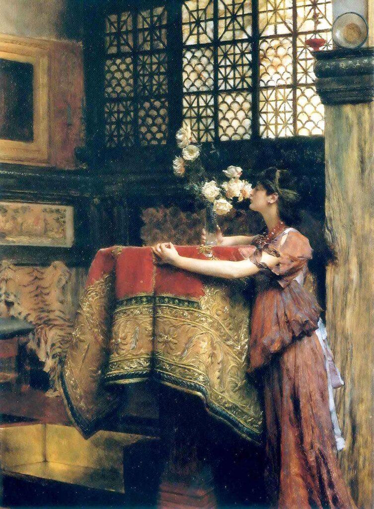 Sir Lawrence Alma Tadema Stüdyomda