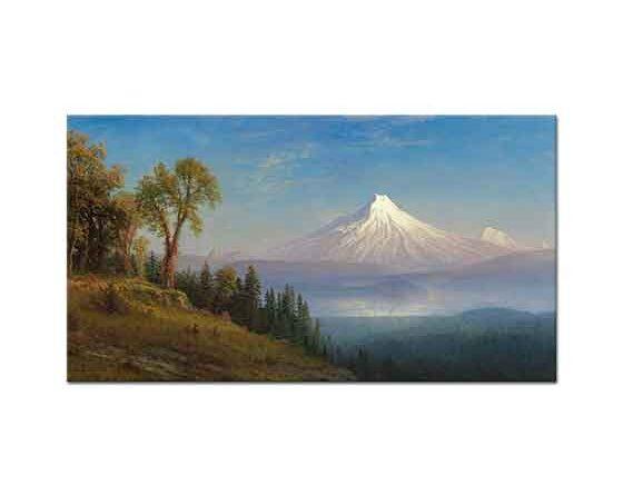 Albert Bierstadt St Helens Dağı