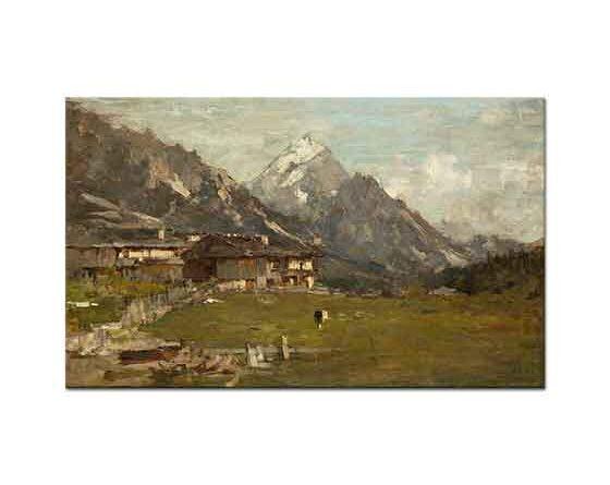 Bartolomeo Bezzi Alplerden Manzara
