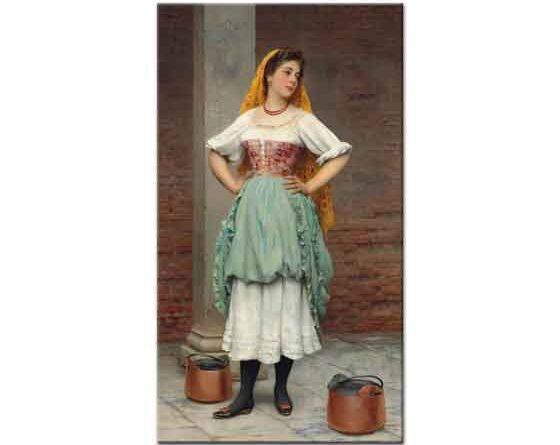 Eugene de Blaas Venedikli Güzel