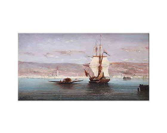 Ferdinand Bonheur Sahil Manzarası Venedik