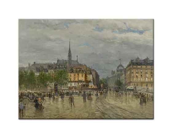 Frank Myers Boggs Paris Manzarası