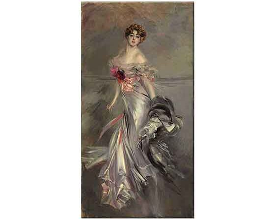 Giovanni Boldini Marthe Regnier'in Portresi