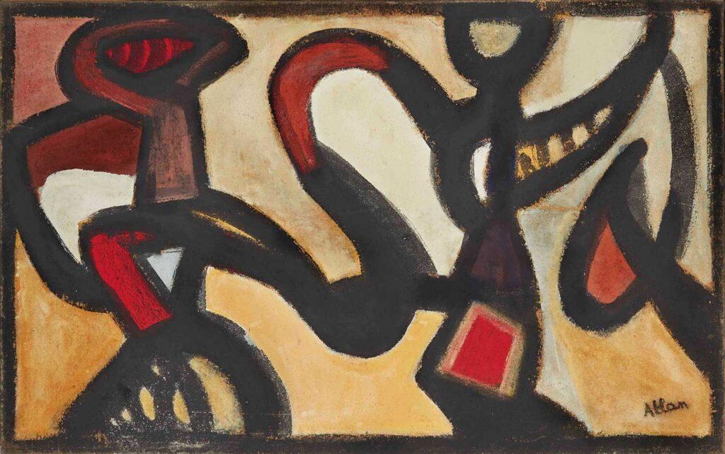 Jean Michel Atlan İsimsiz Kompozisyon