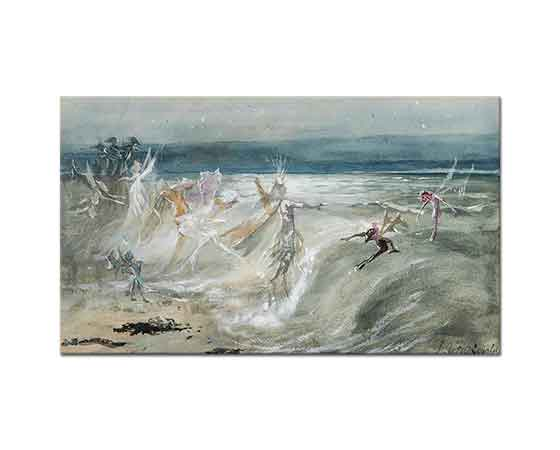 John Anster Fitzgerald Deniz Perileri