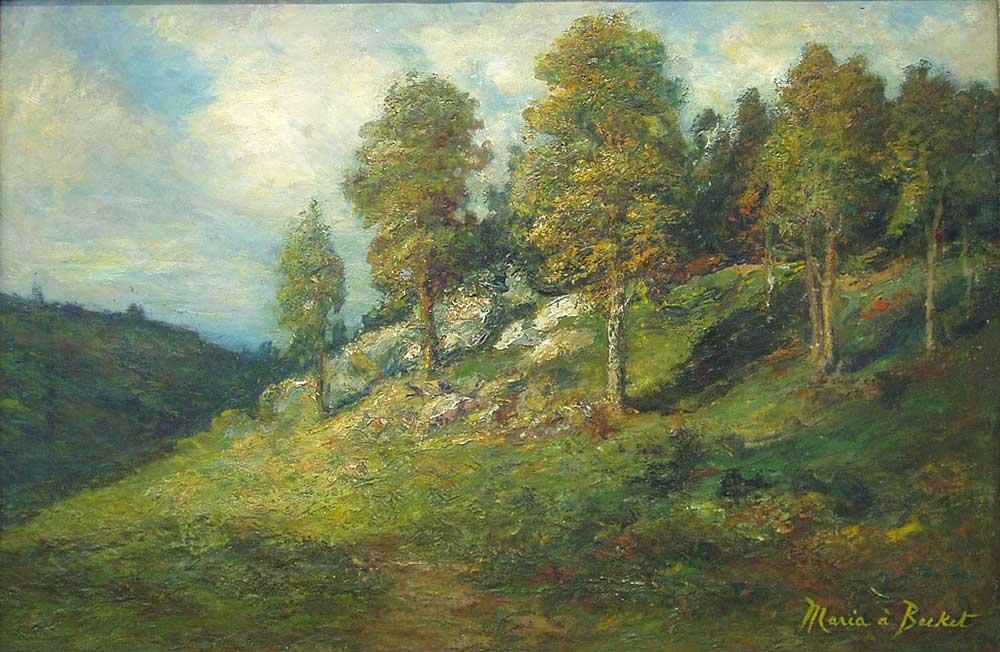 Maria A Becket Orman Kenarında
