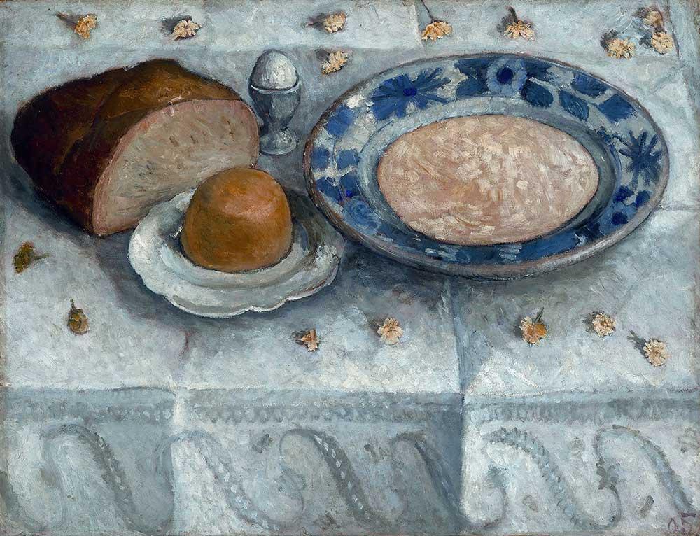 Paula Modersohn Becker Kahvaltı Masası