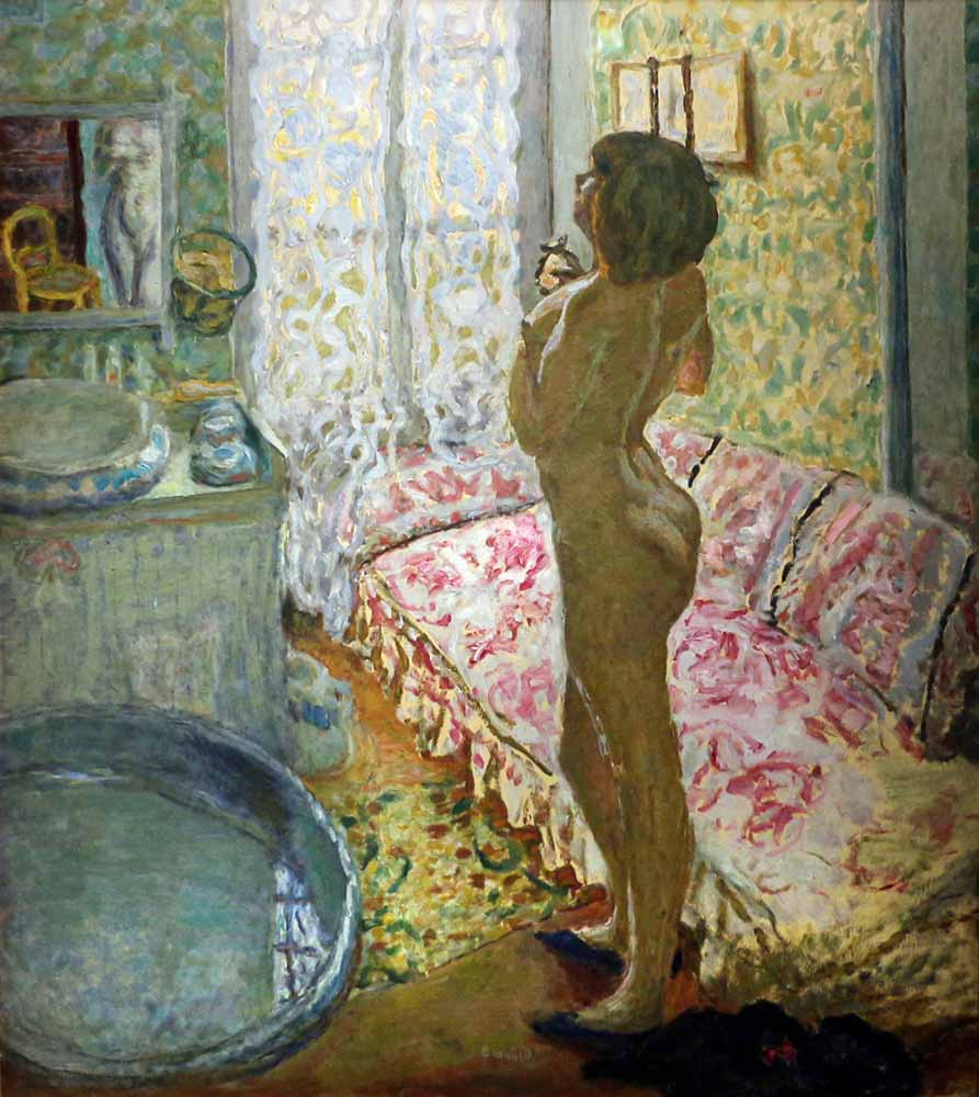 Pierre Bonnard Işığın Karşısında Nü