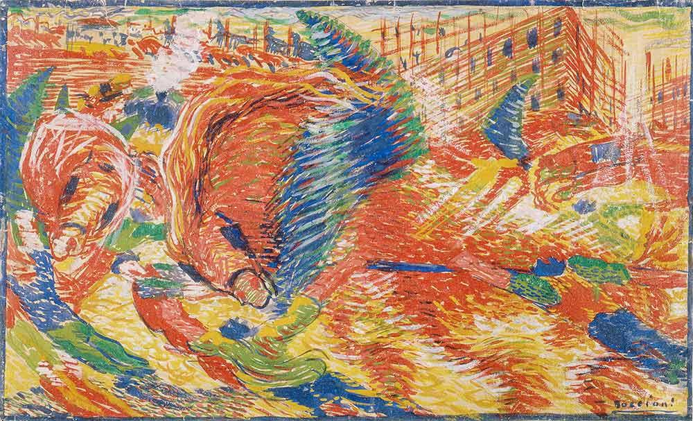 Umberto Boccioni Şehrin Yükselişi