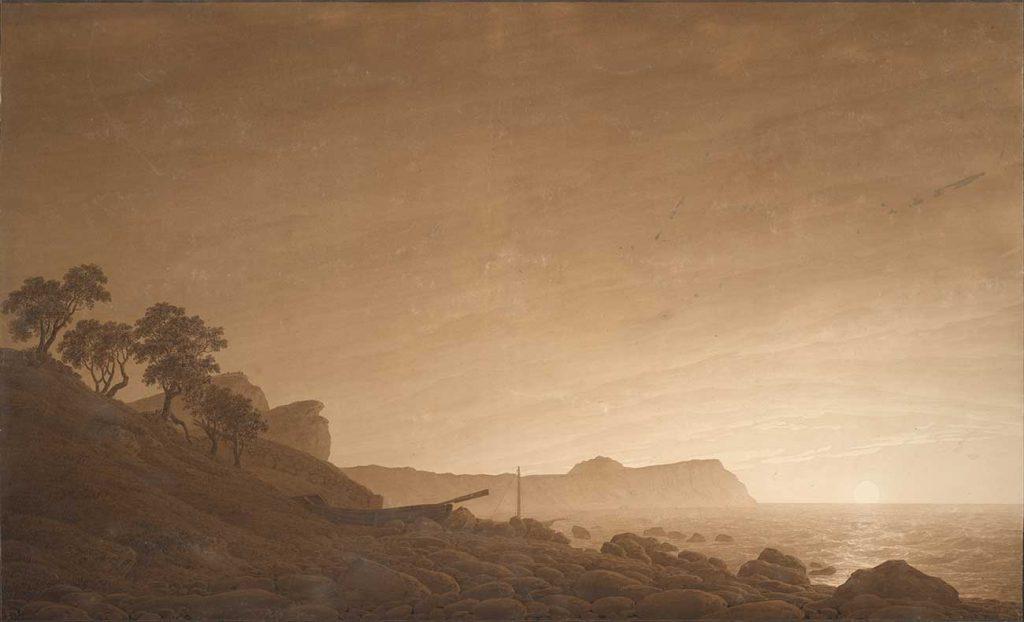 Caspar David Friedrich Ay Doğumunda Arkona