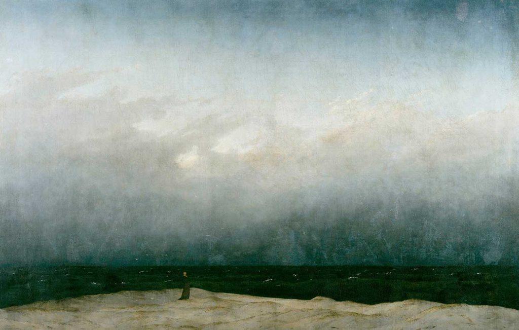 Caspar David Friedrich Deniz ve Keşiş
