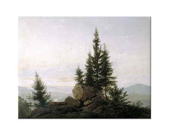 Caspar David Friedrich Elbe Vadisine Bakış