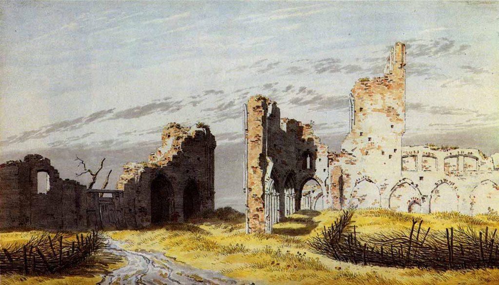 Caspar David Friedrich Eldana Harabeleri