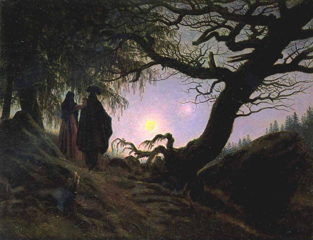 Caspar David Friedrich Mehtapta Erkek ve Kadın
