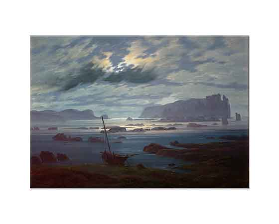 Caspar David Friedrich Mehtapta Kuzey Denizi