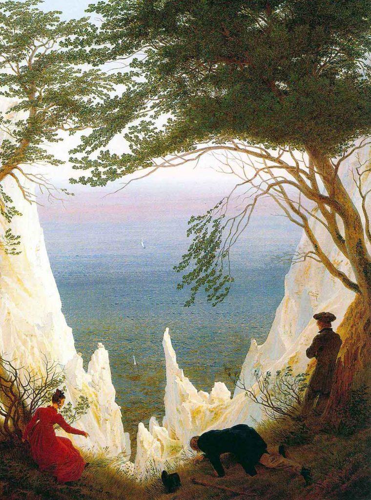 Caspar David Friedrich Tebeşir Kayaları