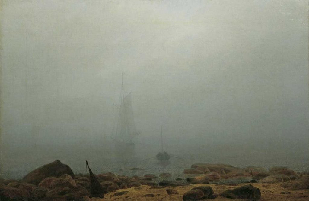 Caspar David Friedrich Yelkenli