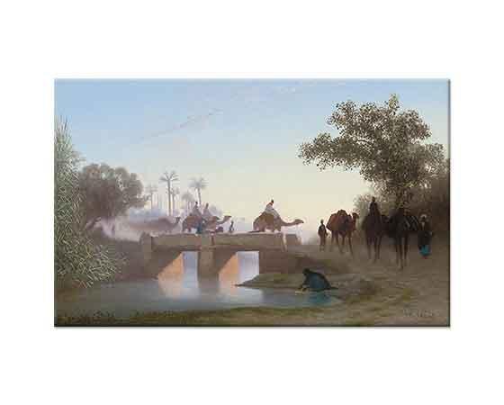 Charles Theodore Frere Nehri Geçen Develer