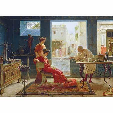 Ettore Forti Kuyumcu Dükkanı Pompei