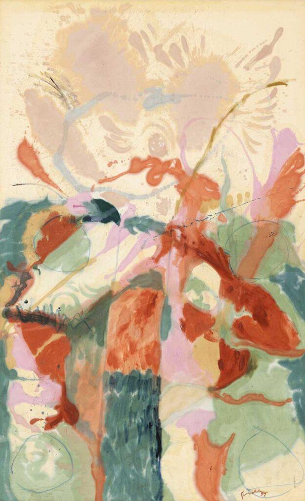 Helen Frankenthaler Jacob'un Merdiveni