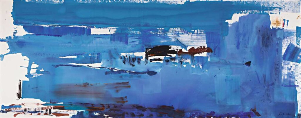 Helen Frankenthaler Mavi Zenginliği