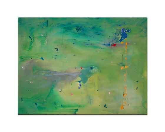 Helen Frankenthaler Yeşil Gölgede Yeşil Düşünce