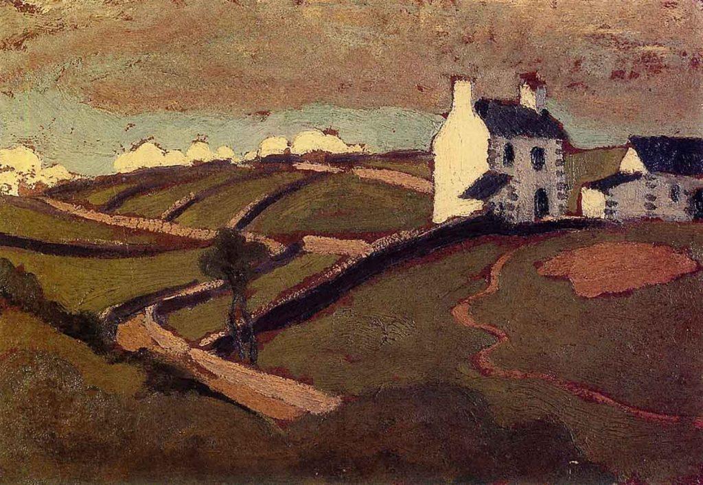 Roger de la Fresnaye Beyaz Ev