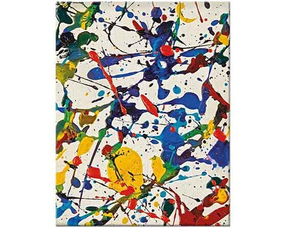 Sam Francis İsimsiz Tablo