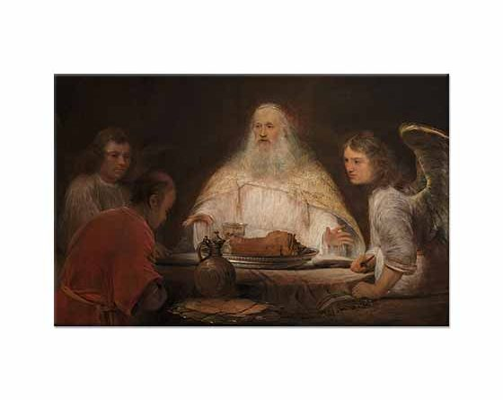 Aert de Gelder İbrahim ve Melekler