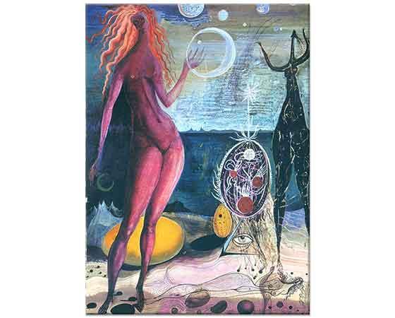 Ernst Fuchs Dünyanın Gecesi