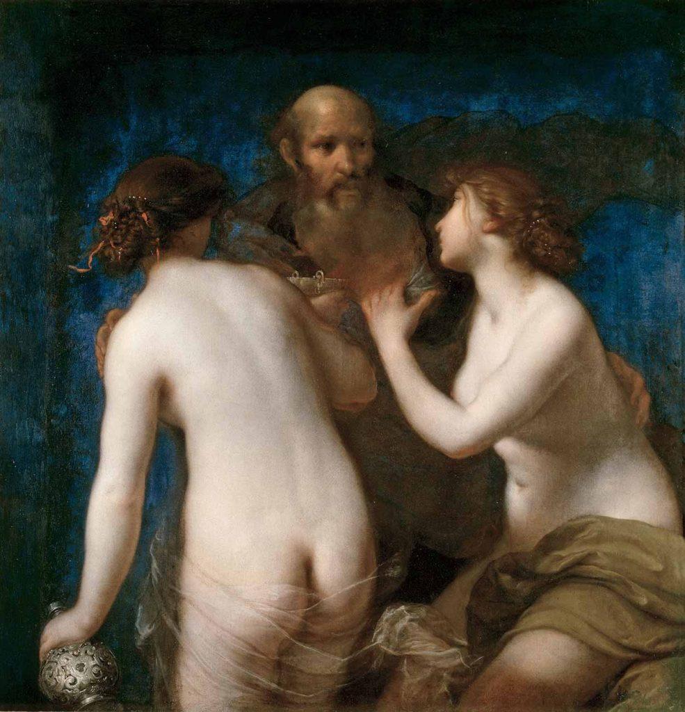 Francesco Furini Lut ve Kızları