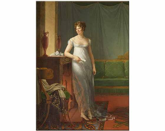 François Gerard Madam Charles Maurice de Talleyrand Prigord
