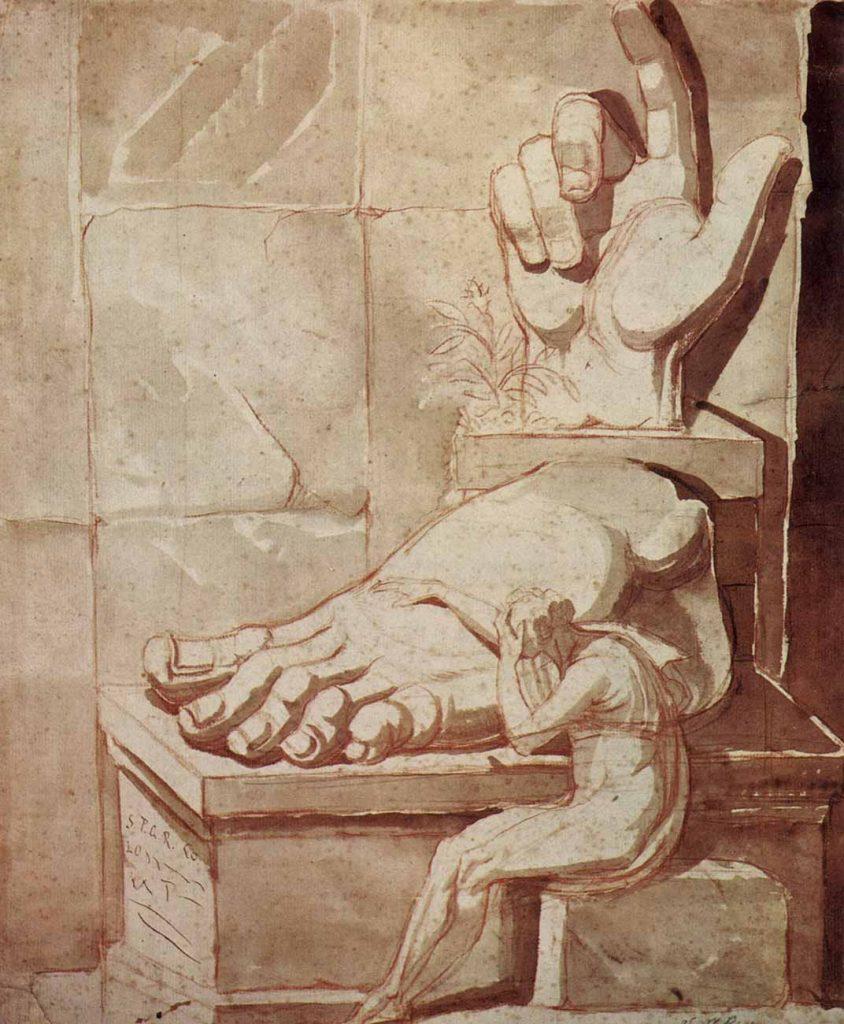 Heinrich Füssli Sanatçının Umutsuzluğu