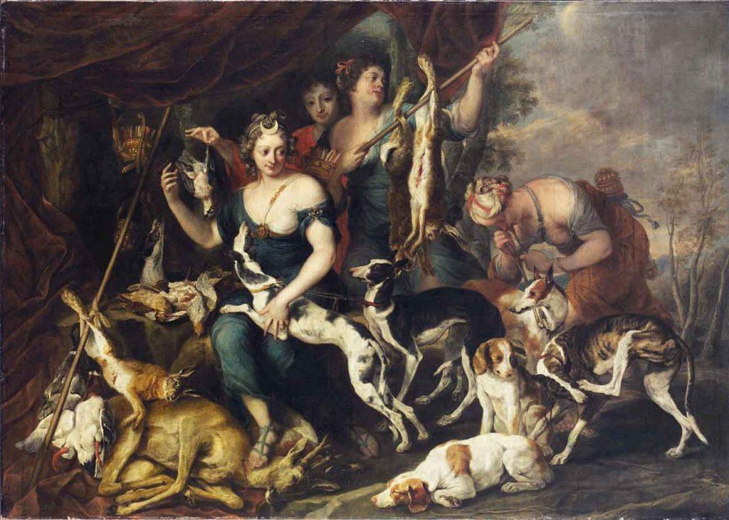 Jan Fyt Diana ve Av Köpeği