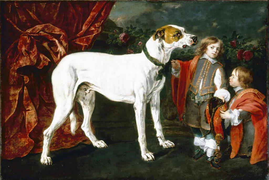 Jan Fyt Büyük Köpek ve Cüce