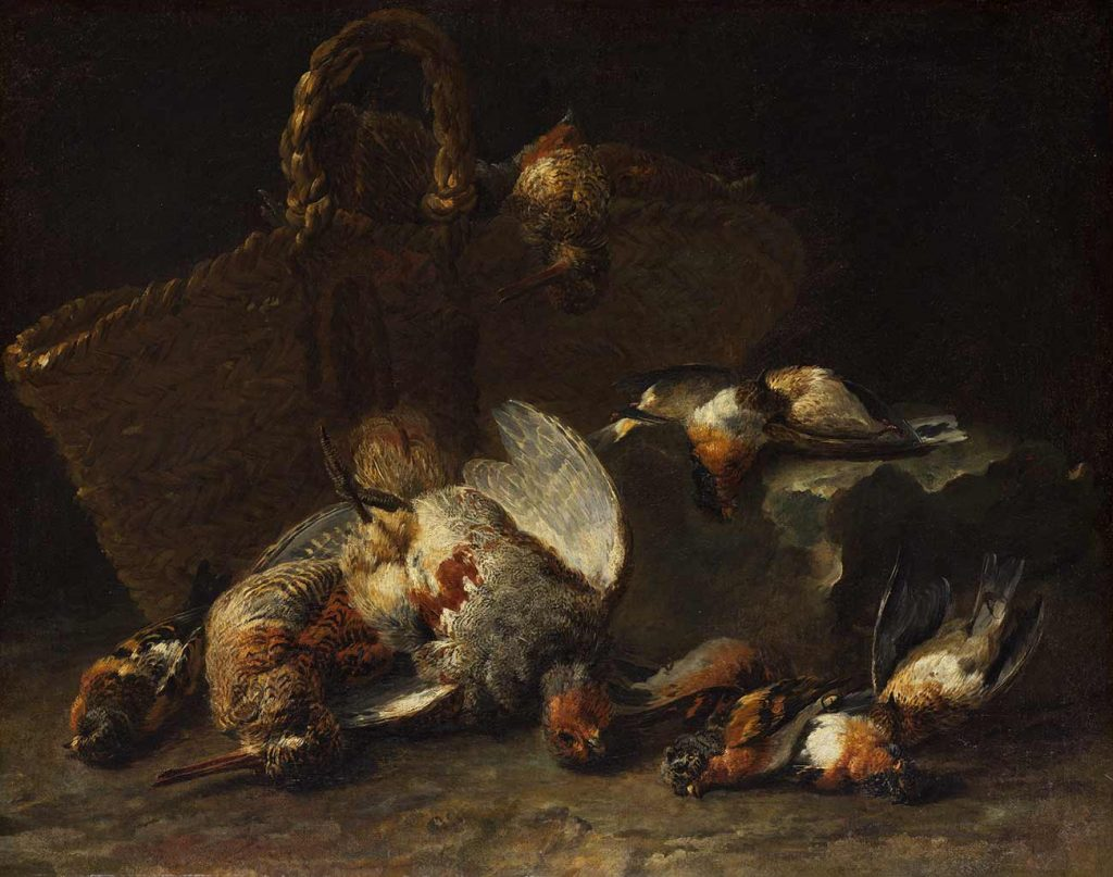 Jan Fyt Kuşlar ve Sepet
