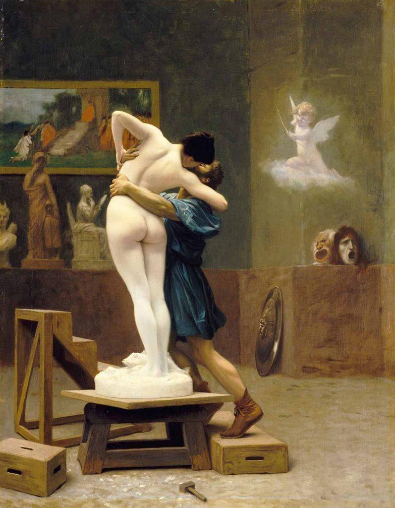 Jean Leon Gerome Pygmalion ve Galatea