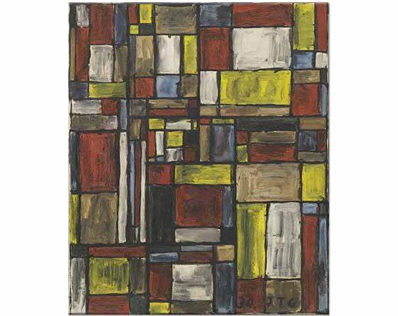 Joaquin Torres Garcia Renk Yapısı