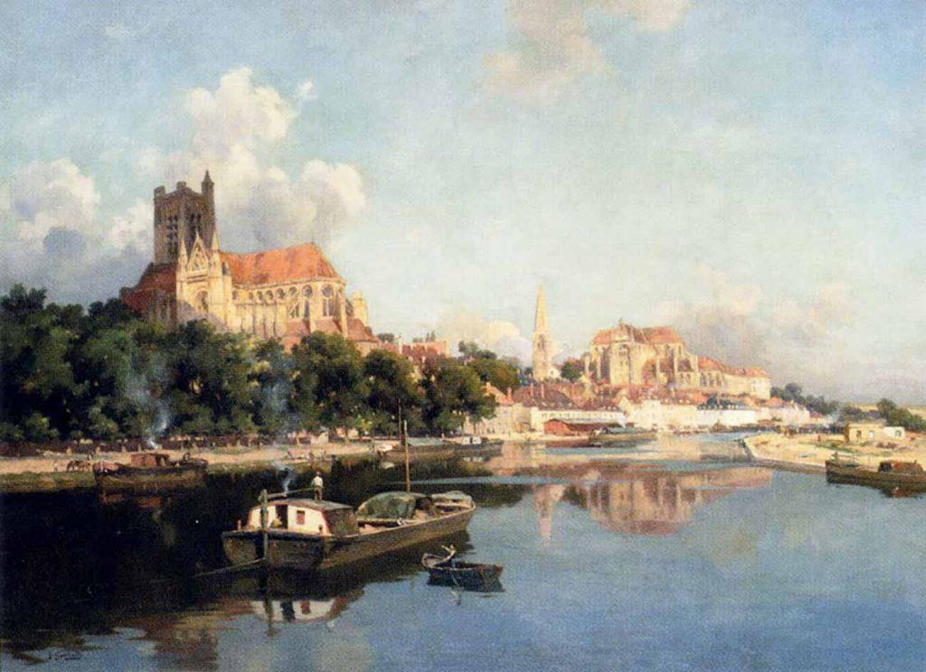 Joseph Garibaldi D'Auxerre Katedrali